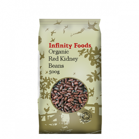 Infinity Organic Red Kidney Beans 500g
